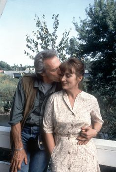 """""""I was just going to have some iced tea and then split the atom, but that can wait."""" -Francesca, #TheBridgesofMadisonCounty #MerylStreep #ClintEastwood"""