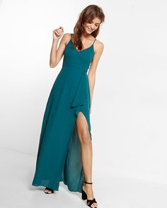 $79.90 - high slit maxi dress