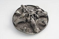 Viking box brooch 'We call them Vikings' .....Museum of Sweden