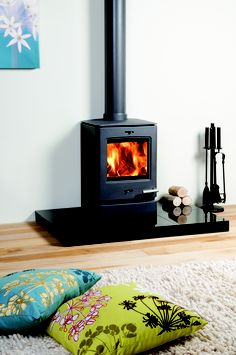 On the lookout for a shaggy rug to lye in front of our new wood heater this wint… – Freestanding fireplace wood burning Wood Fuel, Wood, Updating House, Indoor Fireplace, Wood Heater, Wood Burning Stove, Fireplace, Hearth And Home, Freestanding Fireplace