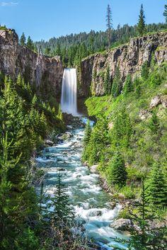 A Tumalo Summer)- Tumalo Falls, Central Oregon