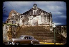 You find this historical church in San German,Puerto Rico.  This is what Porta Coeli used to look like when we went in the 1970's.  Now it is painted peachy-pink.