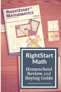 Thinking about using RightStart Math? Check out this comprehensive RightStart Math Review to learn whether it's the right fit for your homeschool.