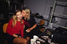 Supermodel #TBTs: Gisele, Kate, and More Backstage Moments From the Greats – Vogue - Kate Moss, January 1995