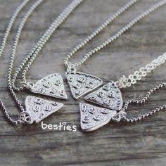 Friendship Pizza Necklace