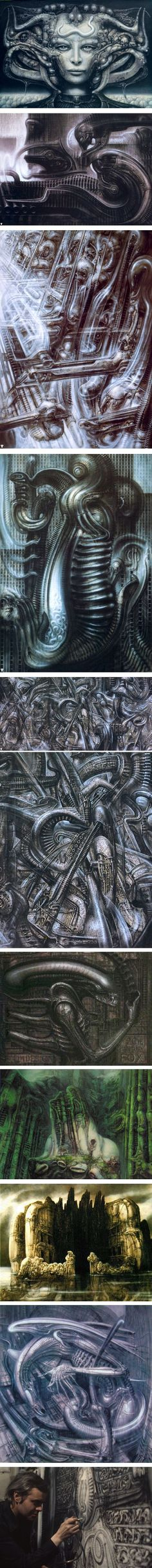 H. R. Giger is also gone. Many will consider him to be of darkness, but some how even his stuff shines because of his originality.