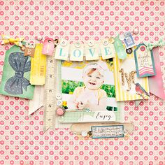 Fabulous Maggie Holmes Collection layout inspiration. #Cratepaper #maggieholmes