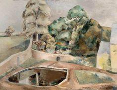The Pond at Souldern by Paul Nash