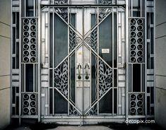 Art Deco Separated at Birth #3 - Deco Doors - Decopix - The Art Deco Architecture Site