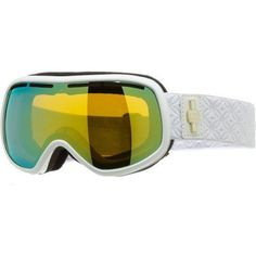 Von Zipper Chakra Goggle (White Gloss, Gold Chrome) by Von Zipper. Save 15 Off!. $85.00. The Von Zipper Chakra Goggle completes your search for inner peace by clearing your vision so you can meditate the only way you know how: racing down the side of a mountain through the snow.Product FeaturesFrame Material: thermopolyurethane injection moldedHelmet Compatible: Eyeglass Compatible: Polarized Lens: Ventilation: frontGrip Strap: Face Size: small to mediumRecommended Use: snowb...
