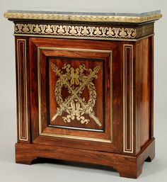*Early 19th century Side cabinet (one of two) in the Royal Collection, UK
