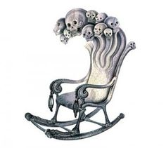 The Irish have always believed that rocking an empty rocking chair welcomes evil spirits into the home.