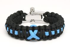 Survival Straps Paracord Bracelets are not only fashionable, they're made of super strong military spec paracord. The ultimate in survival gear! Paracord Bracelet Survival, Paracord Bracelets, Beaded Bracelets, Paracord Ideas, Survival Bracelets, Survival Straps, Survival Gear, Survival Stuff, Teal Ribbon