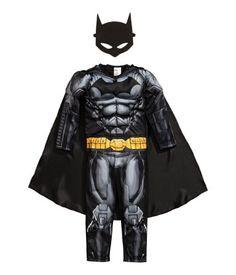 Superhelden-Kostüm   Schwarz/Batman   KINDER   H&M DE
