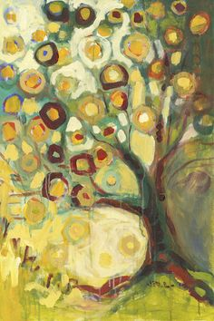 Tree of Life 12 x 18 inch Bamboo Fine Art Print by jenlo262, $65.00