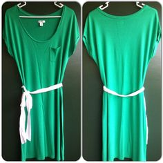 Green Dress By Old Navy