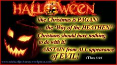 """""""Abstain from all appearance of evil."""" (1 Thessalonians 5:22 KJV)"""