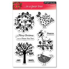 Penny Black Clear Stamp Set - In A Pear Tree