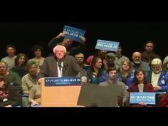 Bernie Sanders DESTROYS a Trump HECKLER!! GOTTA SEE THIS PEOPLE!! - YouTube
