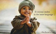 A SMILE is universal!
