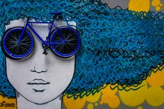 blue street art - Google Search