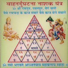Vahan n yantra Shri Yantra, Shri Hanuman, Hanuman Chalisa Mantra, Krishna, Durga, Vedic Mantras, Hindu Mantras, Hanuman Photos, Lord Shiva Hd Images