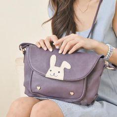 PG Beauty - Rabbit-Applique Cross Bag