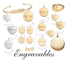 """""""Engravables"""" by jcnm on Polyvore featuring Stella & Dot, women's clothing, women's fashion, women, female, woman, misses and juniors"""