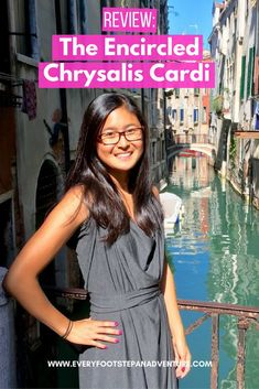 Packing light? Going carry-on only? The Encircled Chrysalis Cardi is the perfect versatile travel garment to help you stay stylish. Wear it in 8+ styles! Check out the Chrysalis Cardi review on the blog!