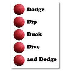 the five d's of dodgeball