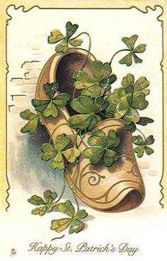 vintage st patricks day cards   Free St. Patrick's Day Clipart