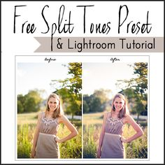 Find out about how to use Split Tones in Lightroom to get the Color Styling you like in Photoshop!  And get a FREE PRESET! #lightroom #photography