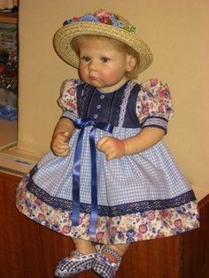 Малышка Mausi от Hildegard Gunzel / Коллекционные куклы (винил) / Шопик. Продать купить куклу / Бэйбики. Куклы фото. Одежда для кукол