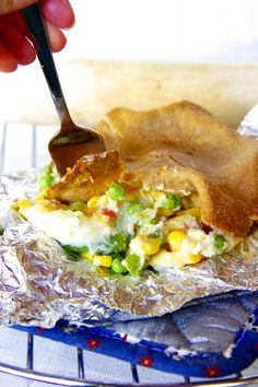 Skinny Chicken Pot Pie by Skinny Girl Standard, a low calorie food blog