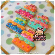 Birthday Cake Cookies Chapix Cookies