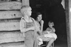 Ozark Mountain History | Ozark children, Arkansas, 1935