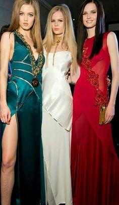 Versace * FW 2014 Backstage