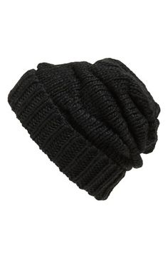 Free shipping and returns on Leith Knit Slouch Beanie at Nordstrom.com. A knit beanie made from soft yarns is designed with a cute, slouchy silhouette.