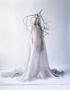 Beautifully strange: Kristen McMenamy is truly breathtaking in a...
