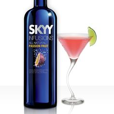XOXO 1.5 oz SKYY Infusions Passion Fruit 1 oz. X-Rated Fusion Liqueur 1 oz. Passion Fruit Puree Splash of sour.   Combine ingredients in shaker. Strain and serve in a martini glass.