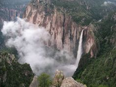 Cascada de Basaseachi, Chihuahua.