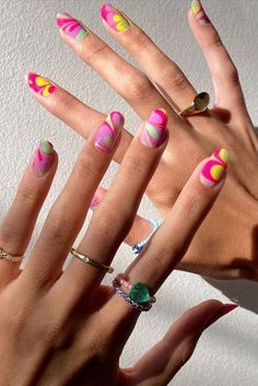 Minimalist Nails, Best Acrylic Nails, Summer Acrylic Nails, Nail Swag, Aycrlic Nails, Hair And Nails, Nail Polish, Shellac Nail Art, Nagellack Trends