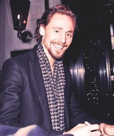 7) While you are signing autographs | The Ultimate Cure For Depression By Tom Hiddleston