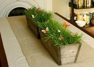 Spring Decorating Ideas Table Centerpiece #springdecor #easter