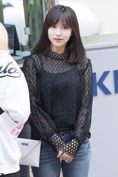 #Twice #Mina #WhatisLove heading to Music Bank 27.04.2018