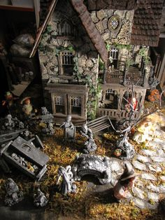 Dollhouse Six Scary Giant Haunted Halloween Spiders Doll House Miniatures