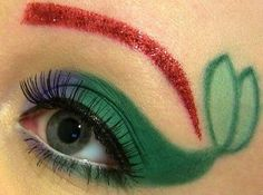 Simple, yet we all know what it is. Little Mermaid Makeup Eyes