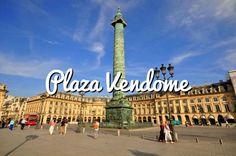 Plaza Vendome: La plaza más lujosa de París #paris #viajar #turismo #travel