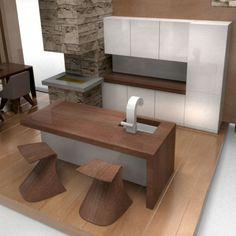 Contemporary Home Bar Design With Unique Modern Design Furniture