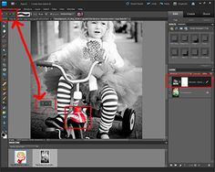 How to Get Black & White W/ Color Accents in Photoshop